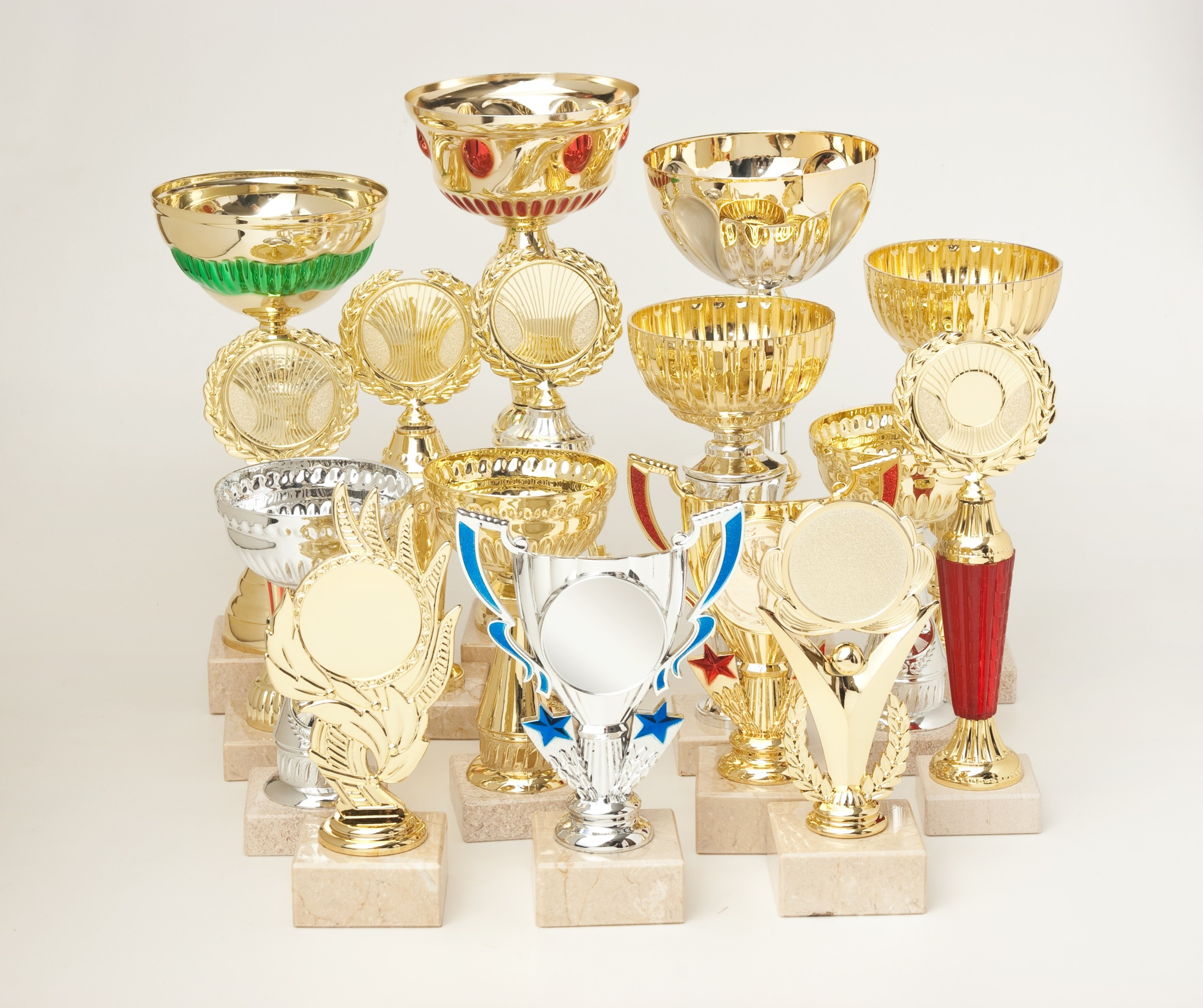 many trophies